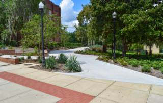 Plaza Reconstructed for ADA