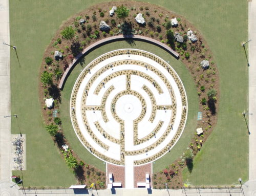 The Labyrinth at FSU Completed – Time Lapse Video